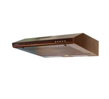 Витяжка PROFIT M Плоская Турбо 3 60 Brown/Inox