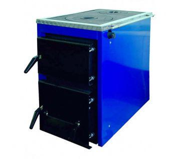 Корди АКТВ 16. Твердотопливный комбинированный котел с плитой на две конфорки 16 кВт
