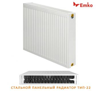 Стальной радиатор Emko 22 500x1000