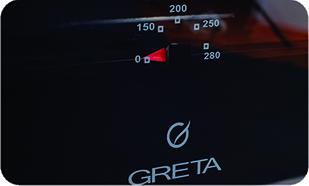 Термометр плиты Greta