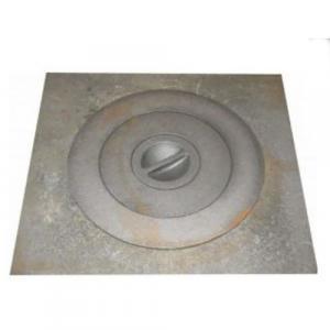 Плита однокамфорная 410х410