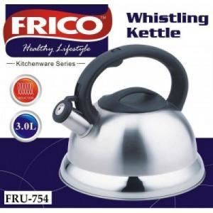 Frico Чайник со свист. 3л  FRU-754(двойное дно)